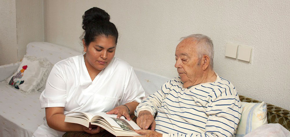 Keeping Alzheimer's patient busy