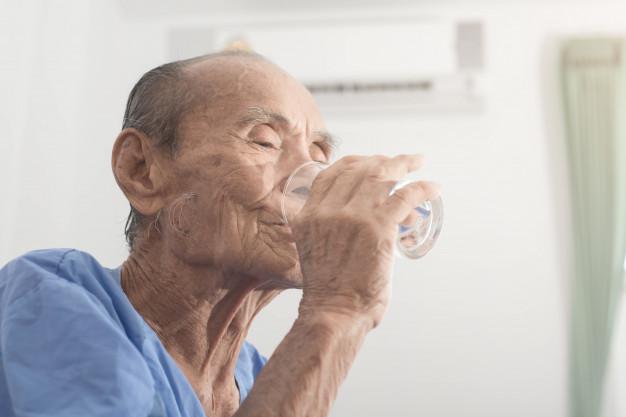 Water imbalance in elderly