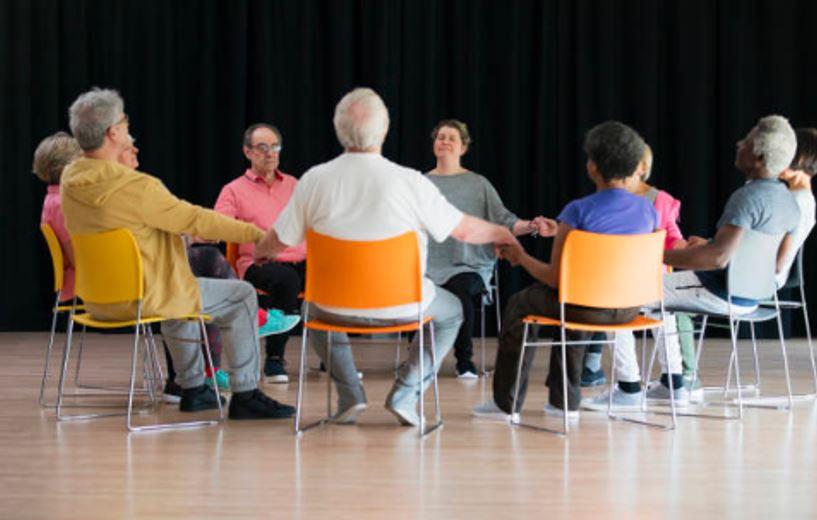 senior support group for depression